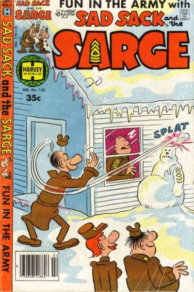 Sad Sack and The Sarge #135 comic books for sale