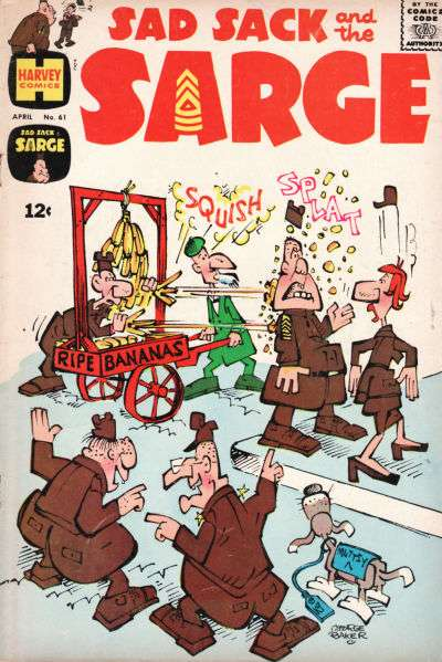 Sad Sack and The Sarge #61 comic books for sale