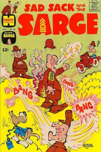 Sad Sack and The Sarge #63 comic books for sale