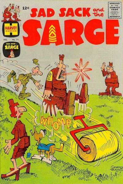 Sad Sack and The Sarge #71 comic books for sale