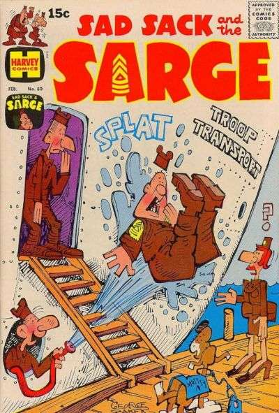 Sad Sack and The Sarge #80 comic books for sale
