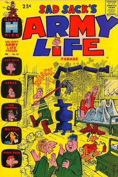 Sad Sack's Army Life #23 comic books for sale