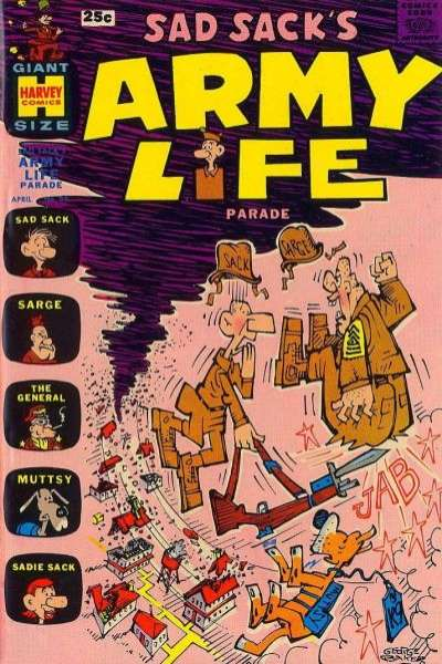 Sad Sack's Army Life #24 comic books for sale