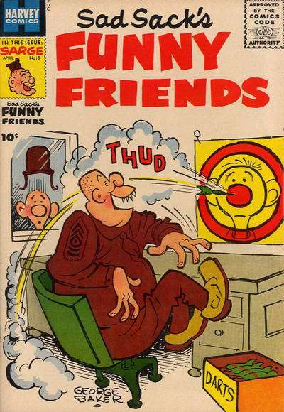 Sad Sack's Funny Friends #3 Comic Books - Covers, Scans, Photos  in Sad Sack's Funny Friends Comic Books - Covers, Scans, Gallery