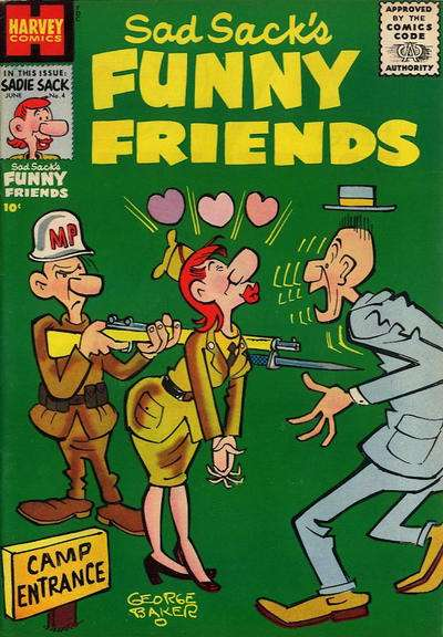 Sad Sack's Funny Friends #4 Comic Books - Covers, Scans, Photos  in Sad Sack's Funny Friends Comic Books - Covers, Scans, Gallery