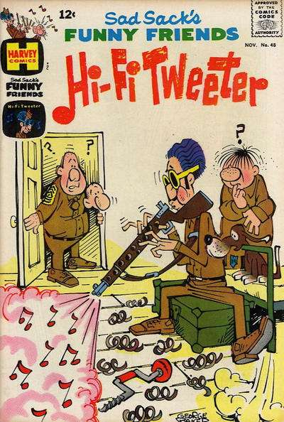 Sad Sack's Funny Friends #48 Comic Books - Covers, Scans, Photos  in Sad Sack's Funny Friends Comic Books - Covers, Scans, Gallery