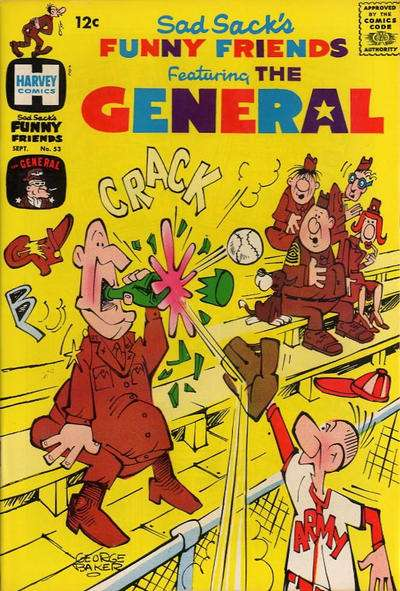 Sad Sack's Funny Friends #53 Comic Books - Covers, Scans, Photos  in Sad Sack's Funny Friends Comic Books - Covers, Scans, Gallery