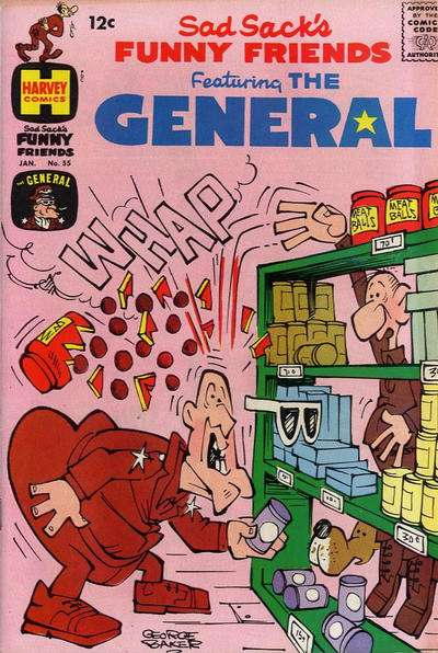 Sad Sack's Funny Friends #55 comic books for sale