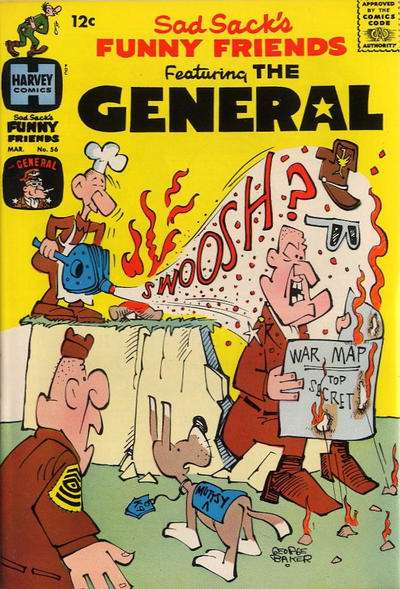 Sad Sack's Funny Friends #56 Comic Books - Covers, Scans, Photos  in Sad Sack's Funny Friends Comic Books - Covers, Scans, Gallery