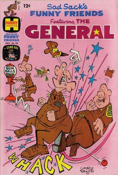 Sad Sack's Funny Friends #58 Comic Books - Covers, Scans, Photos  in Sad Sack's Funny Friends Comic Books - Covers, Scans, Gallery