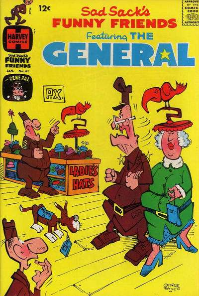 Sad Sack's Funny Friends #61 Comic Books - Covers, Scans, Photos  in Sad Sack's Funny Friends Comic Books - Covers, Scans, Gallery