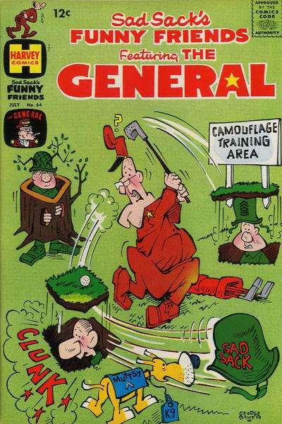 Sad Sack's Funny Friends #64 Comic Books - Covers, Scans, Photos  in Sad Sack's Funny Friends Comic Books - Covers, Scans, Gallery