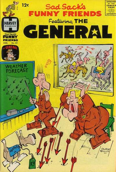 Sad Sack's Funny Friends #65 Comic Books - Covers, Scans, Photos  in Sad Sack's Funny Friends Comic Books - Covers, Scans, Gallery