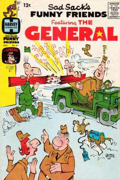 Sad Sack's Funny Friends #67 Comic Books - Covers, Scans, Photos  in Sad Sack's Funny Friends Comic Books - Covers, Scans, Gallery
