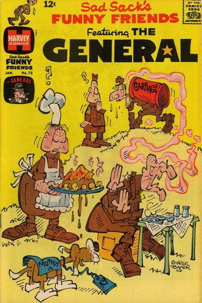 Sad Sack's Funny Friends #72 Comic Books - Covers, Scans, Photos  in Sad Sack's Funny Friends Comic Books - Covers, Scans, Gallery