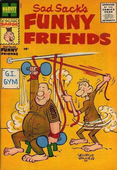 Sad Sack's Funny Friends #8 Comic Books - Covers, Scans, Photos  in Sad Sack's Funny Friends Comic Books - Covers, Scans, Gallery