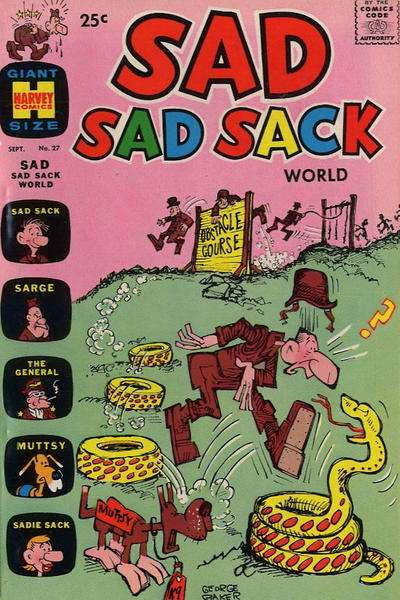 Sad Sad Sack World #27 Comic Books - Covers, Scans, Photos  in Sad Sad Sack World Comic Books - Covers, Scans, Gallery