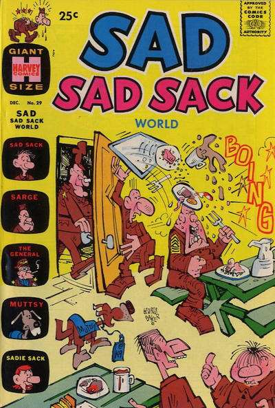 Sad Sad Sack World #29 comic books for sale
