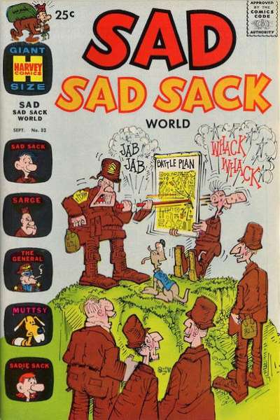 Sad Sad Sack World #32 comic books for sale