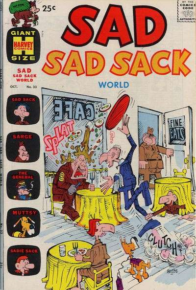 Sad Sad Sack World #33 comic books for sale