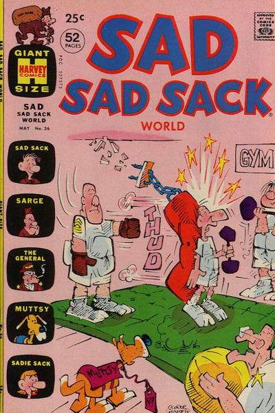 Sad Sad Sack World #36 Comic Books - Covers, Scans, Photos  in Sad Sad Sack World Comic Books - Covers, Scans, Gallery