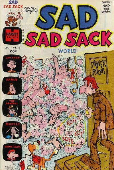 Sad Sad Sack World #46 comic books for sale