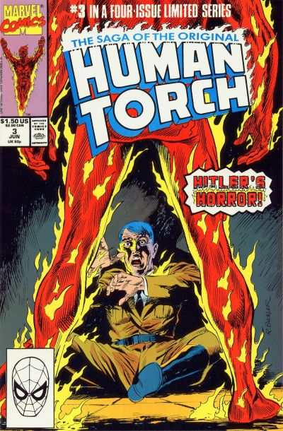Saga of the Original Human Torch #3 comic books - cover scans photos Saga of the Original Human Torch #3 comic books - covers, picture gallery