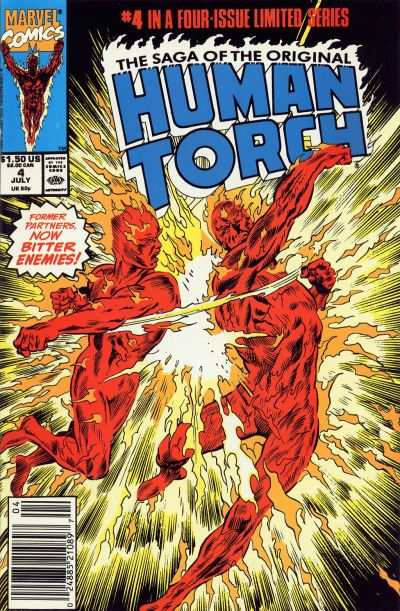 Saga of the Original Human Torch #4 cheap bargain discounted comic books Saga of the Original Human Torch #4 comic books