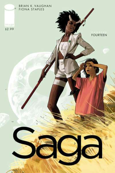 Saga #14 comic books for sale