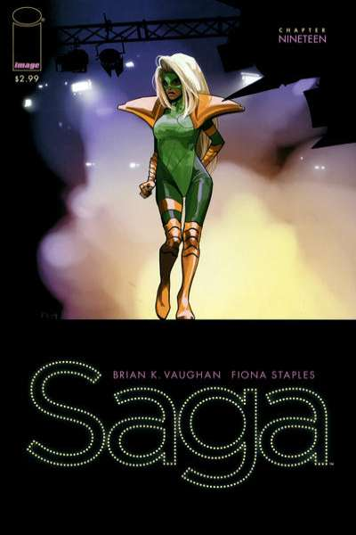 Saga #19 comic books for sale