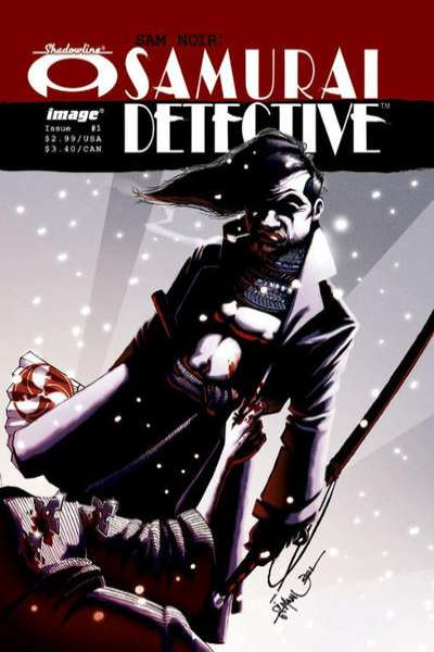 Sam Noir: Samurai Detective #1 comic books - cover scans photos Sam Noir: Samurai Detective #1 comic books - covers, picture gallery