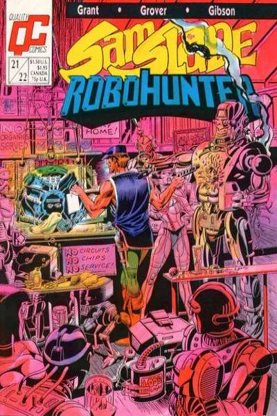Sam Slade Robohunter #21 Comic Books - Covers, Scans, Photos  in Sam Slade Robohunter Comic Books - Covers, Scans, Gallery