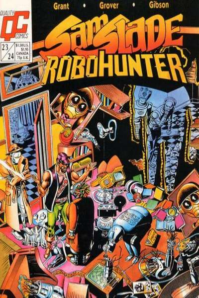 Sam Slade Robohunter #23 comic books for sale