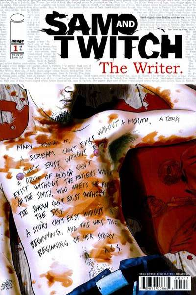 Sam and Twitch: The Writer #1 comic books - cover scans photos Sam and Twitch: The Writer #1 comic books - covers, picture gallery