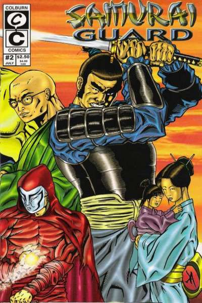 Samurai Guard #2 comic books - cover scans photos Samurai Guard #2 comic books - covers, picture gallery