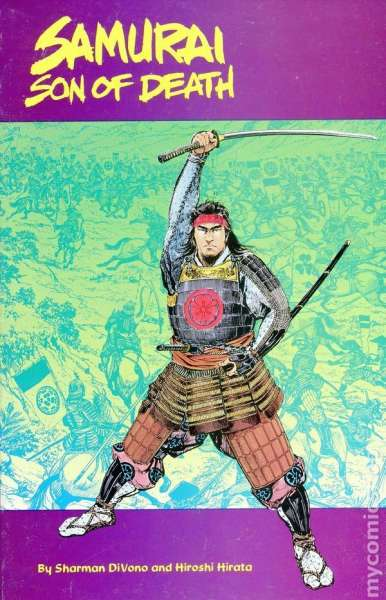 Samurai: Son of Death #1 comic books - cover scans photos Samurai: Son of Death #1 comic books - covers, picture gallery