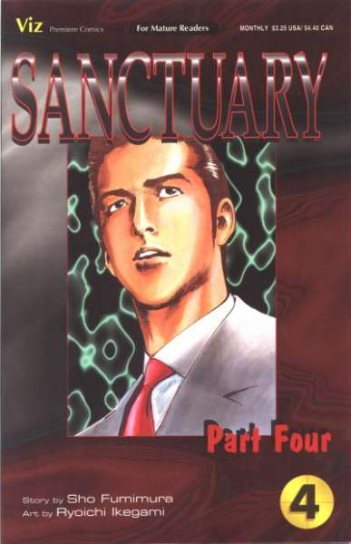 Sanctuary: Part 4 #4 comic books for sale