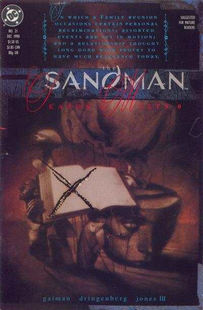 Sandman #21 Comic Books - Covers, Scans, Photos  in Sandman Comic Books - Covers, Scans, Gallery