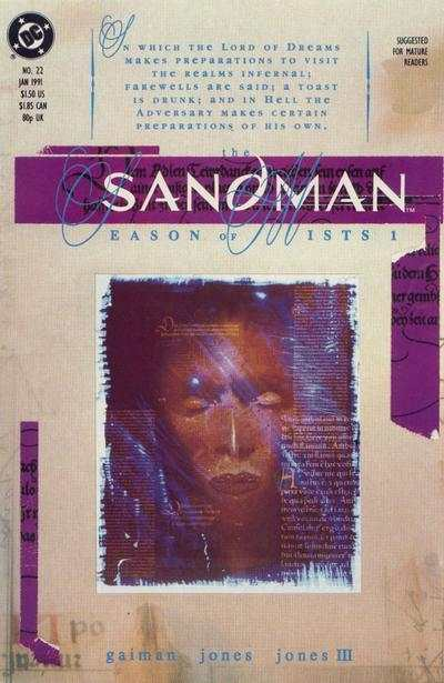 Sandman #22 comic books for sale