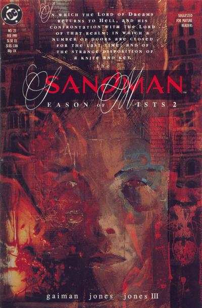 Sandman #23 comic books - cover scans photos Sandman #23 comic books - covers, picture gallery