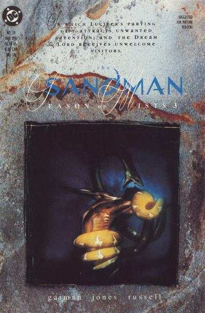 Sandman #24 comic books - cover scans photos Sandman #24 comic books - covers, picture gallery