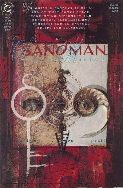 Sandman #26 comic books - cover scans photos Sandman #26 comic books - covers, picture gallery