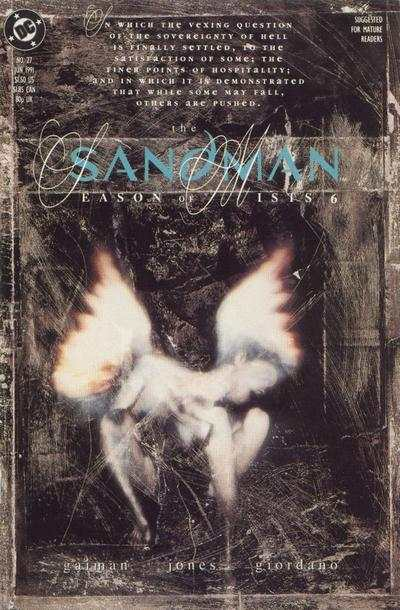 Sandman #27 comic books - cover scans photos Sandman #27 comic books - covers, picture gallery