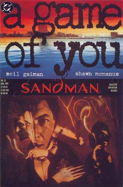 Sandman #32 comic books - cover scans photos Sandman #32 comic books - covers, picture gallery