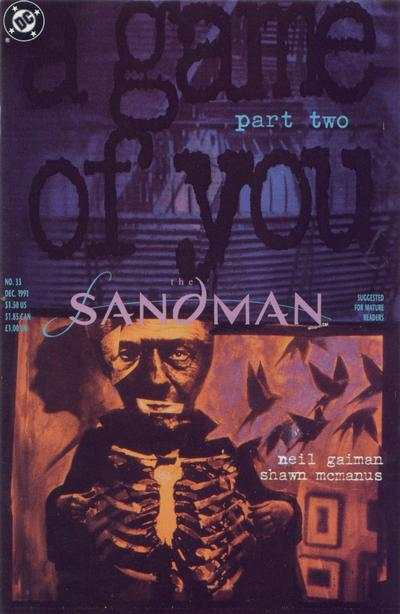 Sandman #33 comic books - cover scans photos Sandman #33 comic books - covers, picture gallery