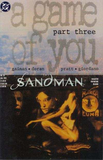 Sandman #34 comic books - cover scans photos Sandman #34 comic books - covers, picture gallery