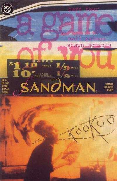 Sandman #35 cheap bargain discounted comic books Sandman #35 comic books
