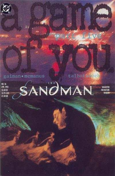 Sandman #36 comic books - cover scans photos Sandman #36 comic books - covers, picture gallery