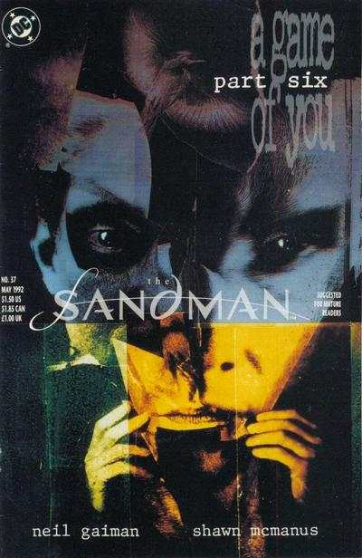 Sandman #37 comic books - cover scans photos Sandman #37 comic books - covers, picture gallery