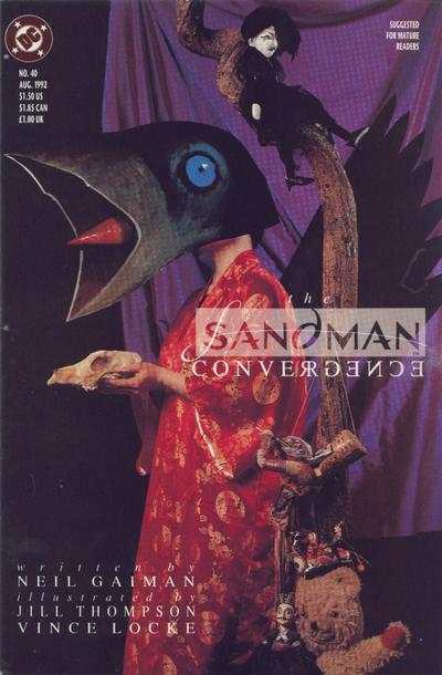 Sandman #40 comic books - cover scans photos Sandman #40 comic books - covers, picture gallery